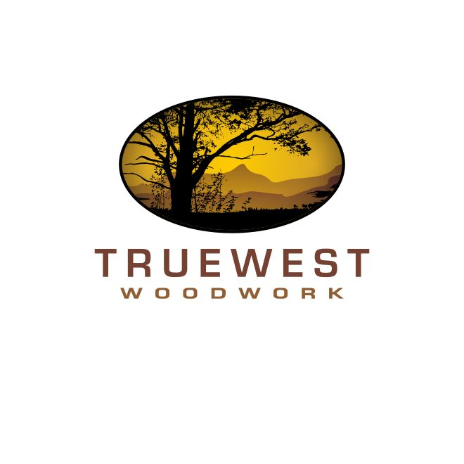 Logo Design by holejohn - Entry No. 40 in the Logo Design Contest True West Woodwork.
