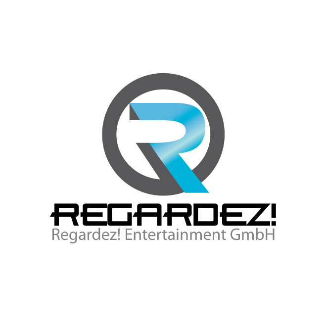 Logo Design by stormbighit - Entry No. 4 in the Logo Design Contest Logo Design Needed for Exciting New Company Regardez! (full name = Regardez! Entertainment GmbH).