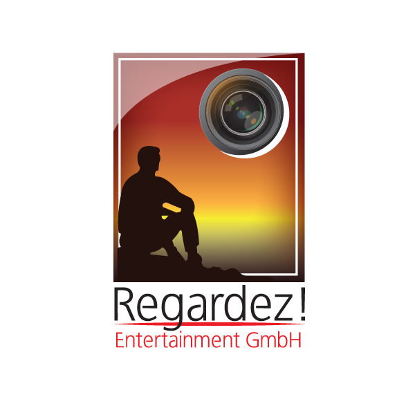 Logo Design by storm - Entry No. 10 in the Logo Design Contest Logo Design Needed for Exciting New Company Regardez! (full name = Regardez! Entertainment GmbH).