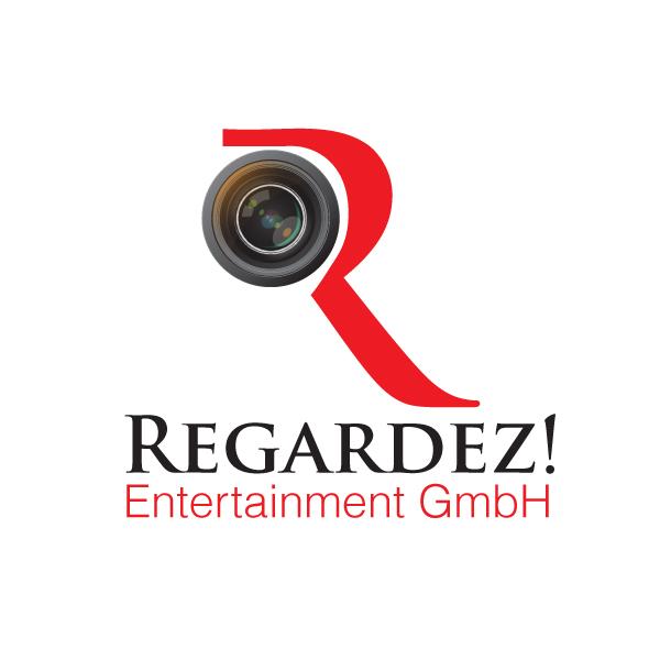 Logo Design by storm - Entry No. 12 in the Logo Design Contest Logo Design Needed for Exciting New Company Regardez! (full name = Regardez! Entertainment GmbH).