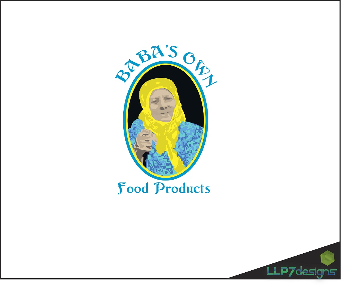 Logo Design by LLP7 - Entry No. 1 in the Logo Design Contest Unique Logo Design Wanted for Baba's Own Food Products.