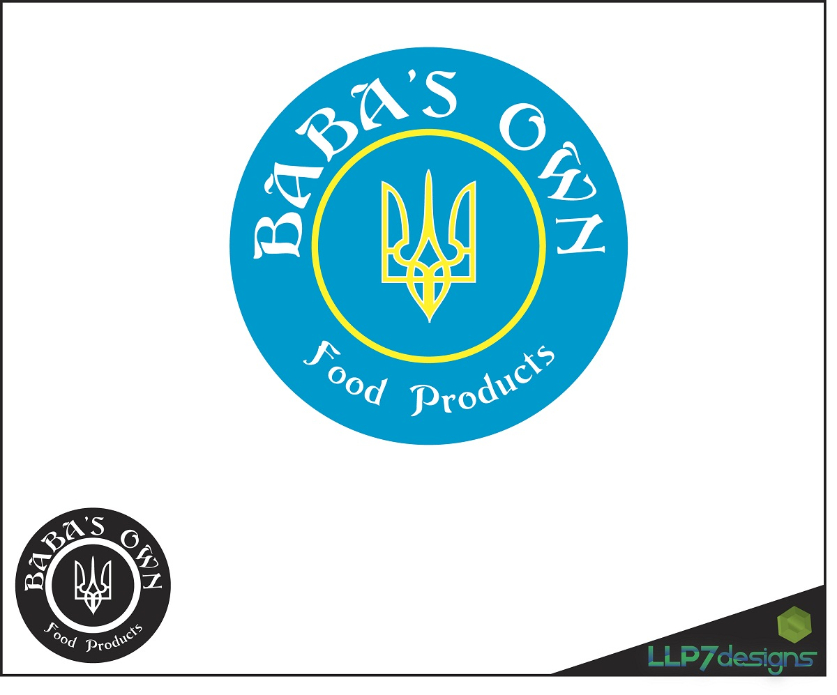 Logo Design by LLP7 - Entry No. 2 in the Logo Design Contest Unique Logo Design Wanted for Baba's Own Food Products.