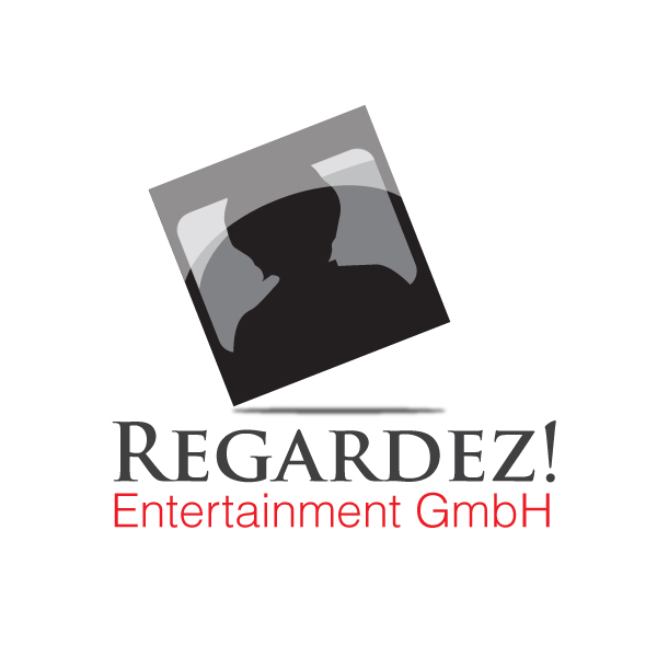 Logo Design by storm - Entry No. 13 in the Logo Design Contest Logo Design Needed for Exciting New Company Regardez! (full name = Regardez! Entertainment GmbH).