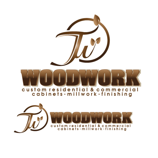 Logo Design by stormbighit - Entry No. 46 in the Logo Design Contest True West Woodwork.