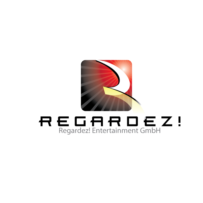 Logo Design by stormbighit - Entry No. 17 in the Logo Design Contest Logo Design Needed for Exciting New Company Regardez! (full name = Regardez! Entertainment GmbH).