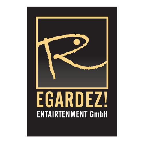 Logo Design by saint - Entry No. 18 in the Logo Design Contest Logo Design Needed for Exciting New Company Regardez! (full name = Regardez! Entertainment GmbH).
