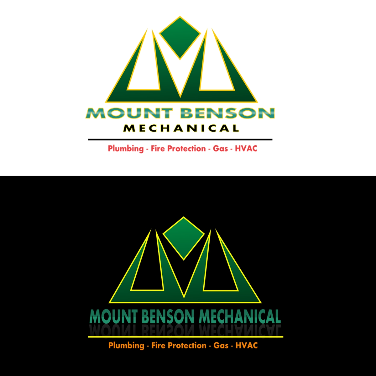 Logo Design by Joseph calunsag Cagaanan - Entry No. 66 in the Logo Design Contest Mount Benson Mechanical.