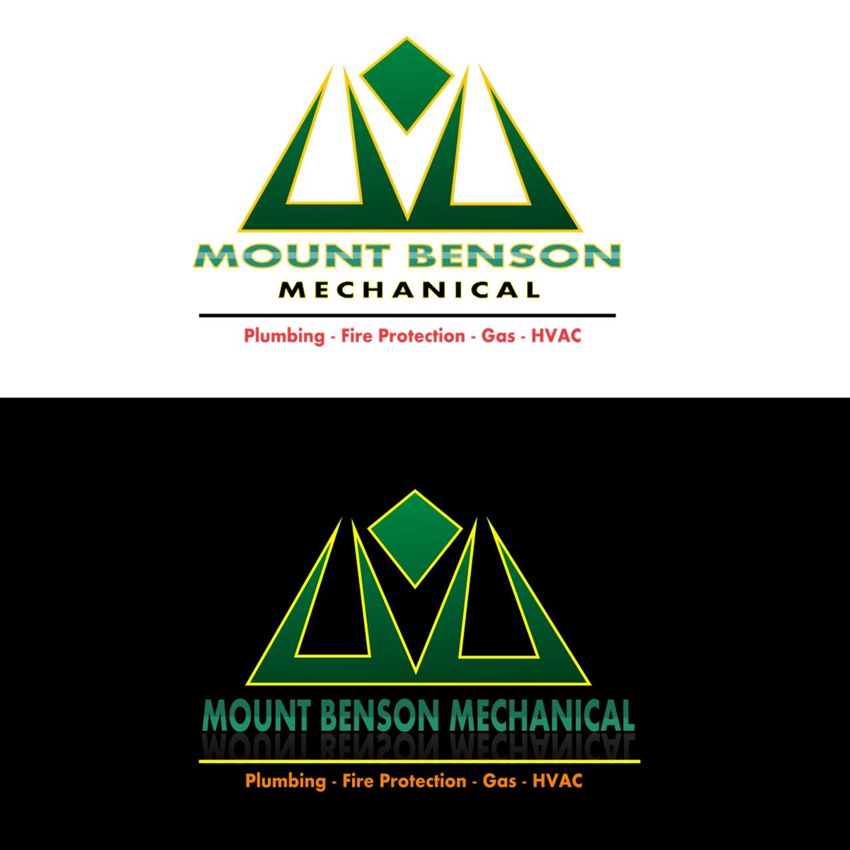 Logo Design by Joseph calunsag Cagaanan - Entry No. 66 in the Logo Design Contest Mount Benson Mechanical.