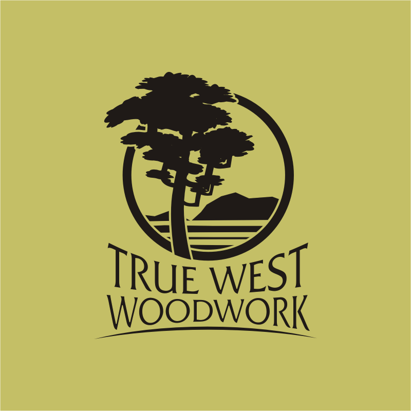 Logo Design by montoshlall - Entry No. 52 in the Logo Design Contest True West Woodwork.
