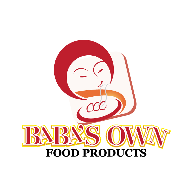Logo Design by stormbighit - Entry No. 7 in the Logo Design Contest Unique Logo Design Wanted for Baba's Own Food Products.