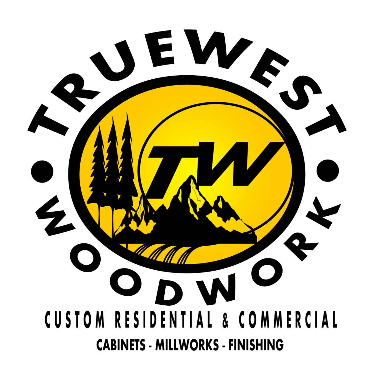 Logo Design by Joseph calunsag Cagaanan - Entry No. 54 in the Logo Design Contest True West Woodwork.