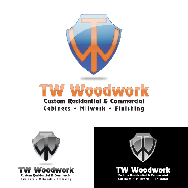 Logo Design by storm - Entry No. 56 in the Logo Design Contest True West Woodwork.