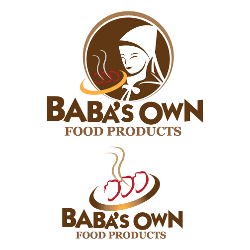 Logo Design by stormbighit - Entry No. 9 in the Logo Design Contest Unique Logo Design Wanted for Baba's Own Food Products.