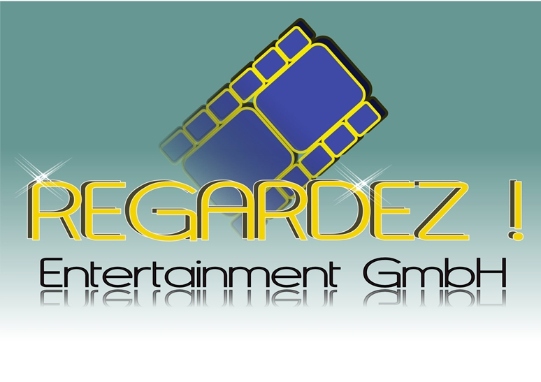 Logo Design by Heri Susanto - Entry No. 25 in the Logo Design Contest Logo Design Needed for Exciting New Company Regardez! (full name = Regardez! Entertainment GmbH).