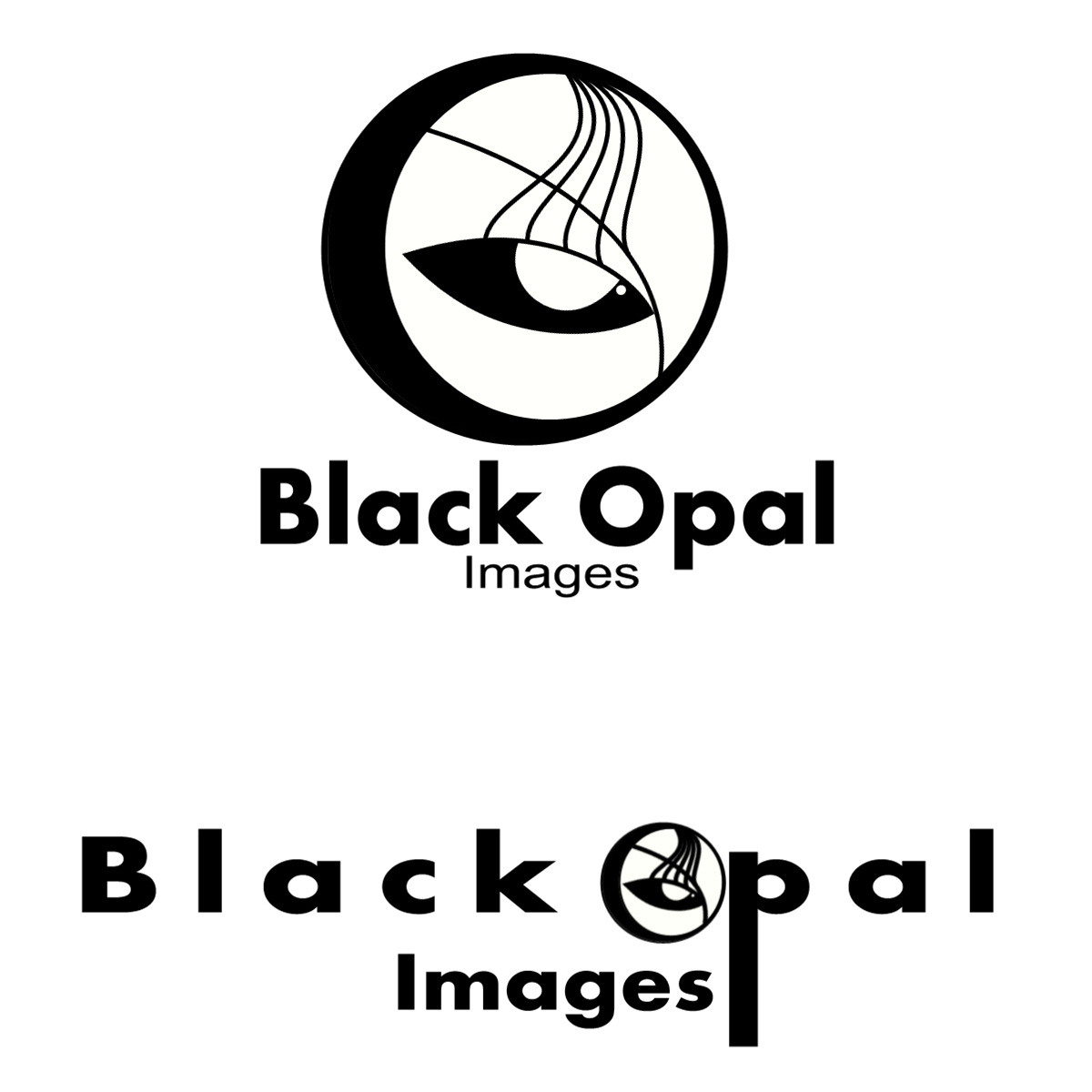 Logo Design by Joseph calunsag Cagaanan - Entry No. 1 in the Logo Design Contest New Logo Design for Black Opal Images.