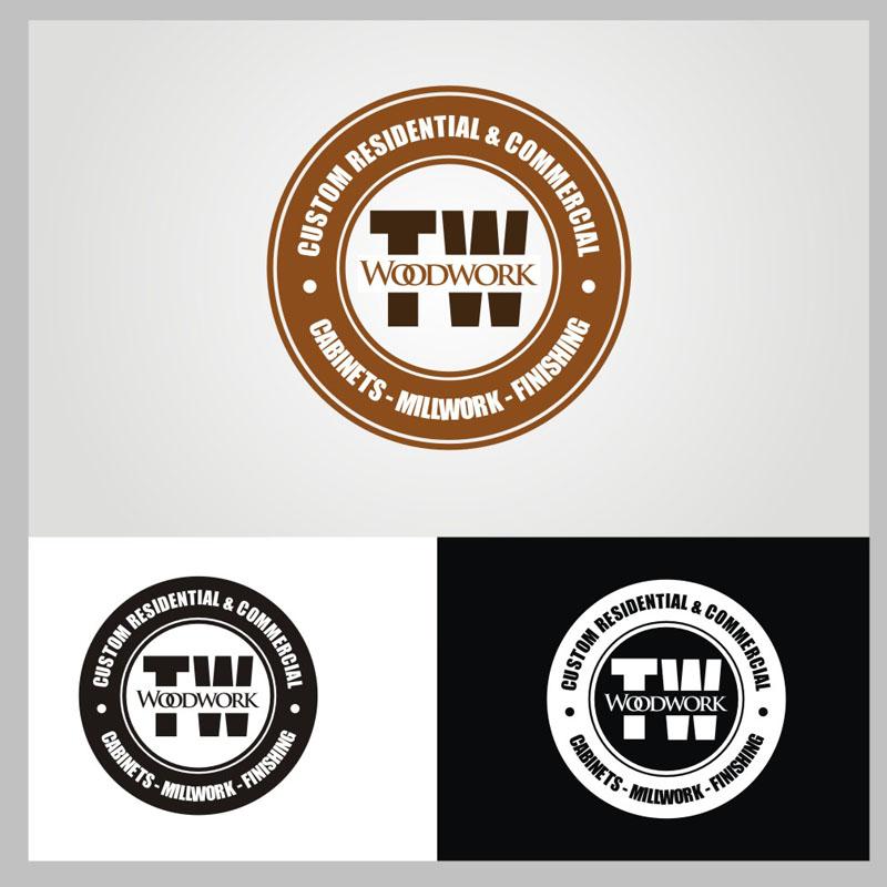 Logo Design by Heru budi Santoso - Entry No. 62 in the Logo Design Contest True West Woodwork.