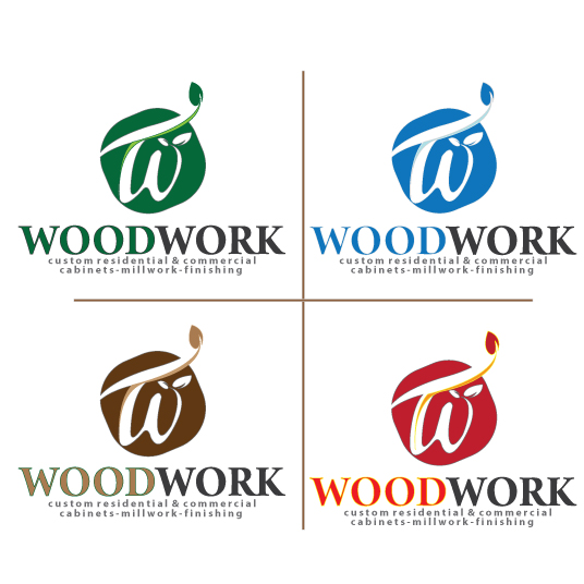 Logo Design by stormbighit - Entry No. 63 in the Logo Design Contest True West Woodwork.