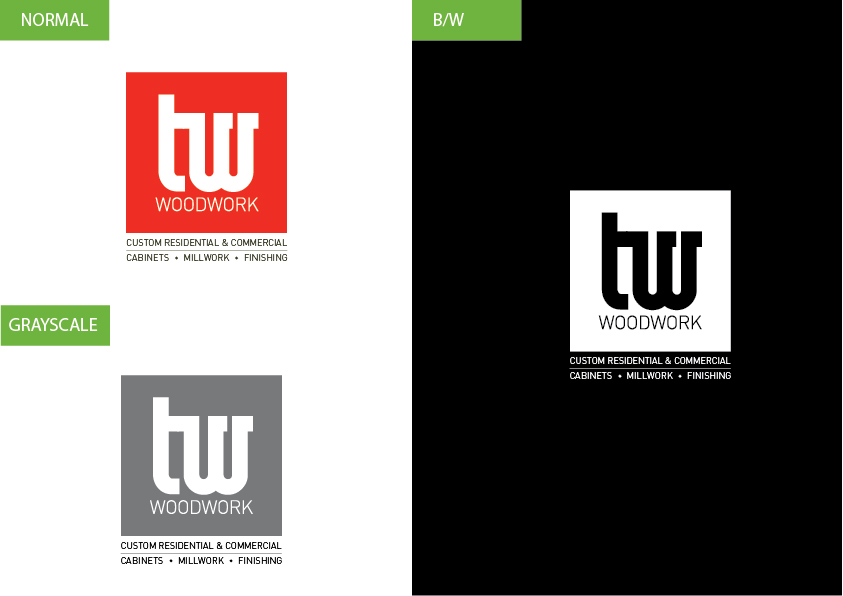 Logo Design by Christian Nascimento - Entry No. 68 in the Logo Design Contest True West Woodwork.