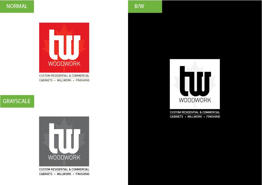 Logo Design by Christian Nascimento - Entry No. 69 in the Logo Design Contest True West Woodwork.