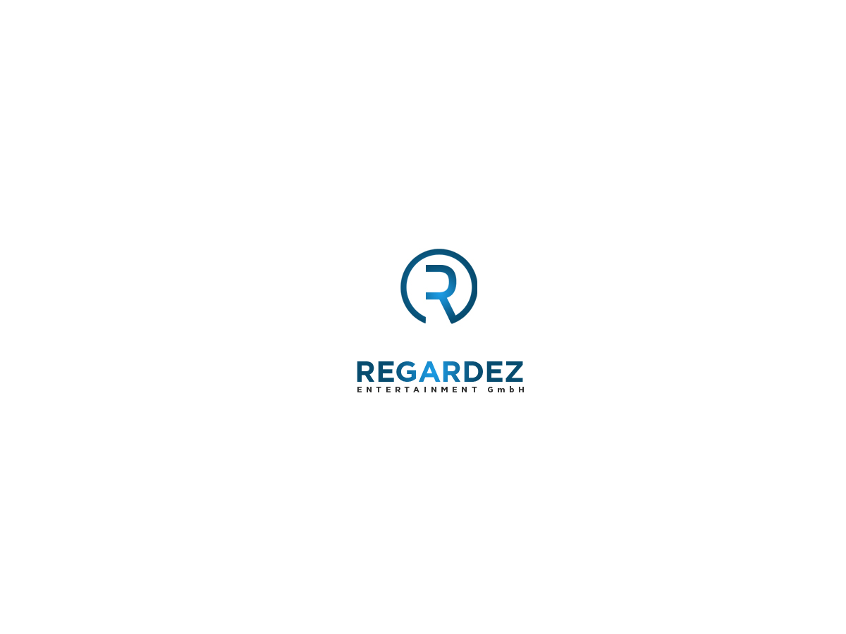 Logo Design by Private User - Entry No. 38 in the Logo Design Contest Logo Design Needed for Exciting New Company Regardez! (full name = Regardez! Entertainment GmbH).