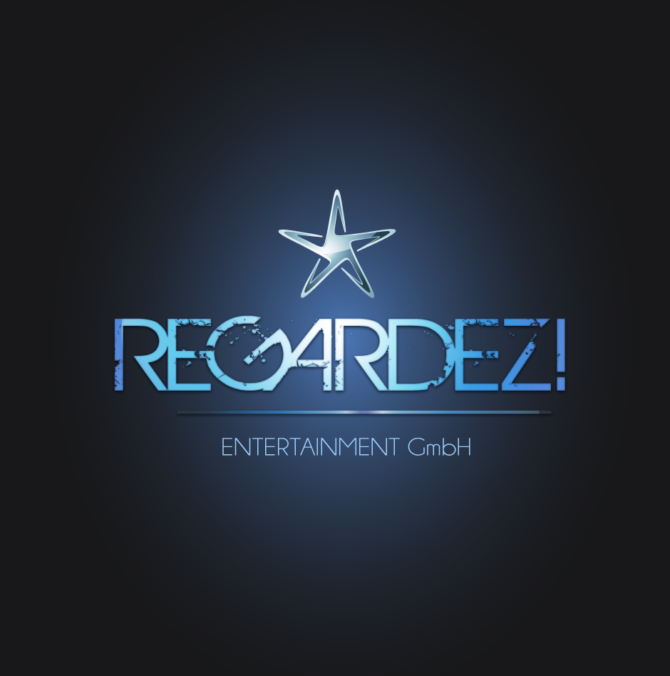 Logo Design by moonflower - Entry No. 44 in the Logo Design Contest Logo Design Needed for Exciting New Company Regardez! (full name = Regardez! Entertainment GmbH).
