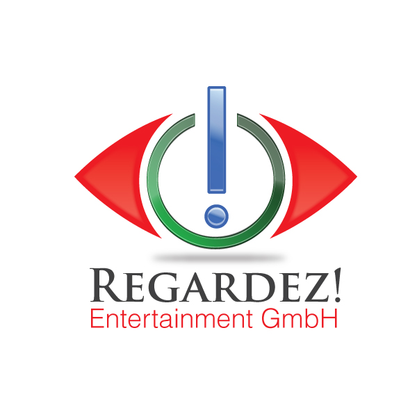 Logo Design by storm - Entry No. 50 in the Logo Design Contest Logo Design Needed for Exciting New Company Regardez! (full name = Regardez! Entertainment GmbH).