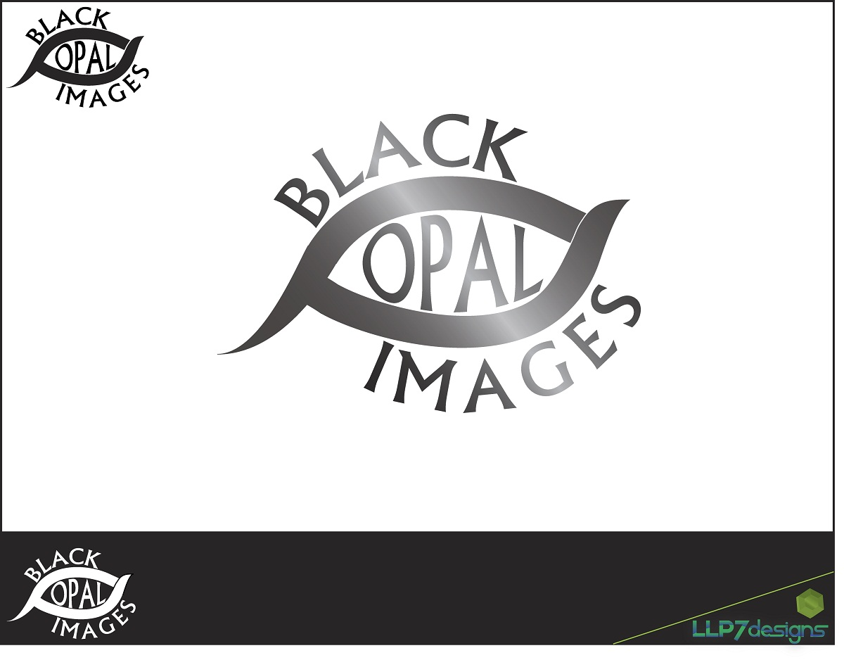 Logo Design by LLP7 - Entry No. 3 in the Logo Design Contest New Logo Design for Black Opal Images.