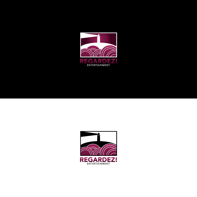 Logo Design by Alpar David - Entry No. 55 in the Logo Design Contest Logo Design Needed for Exciting New Company Regardez! (full name = Regardez! Entertainment GmbH).