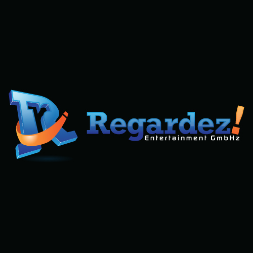 Logo Design by suke - Entry No. 76 in the Logo Design Contest Logo Design Needed for Exciting New Company Regardez! (full name = Regardez! Entertainment GmbH).