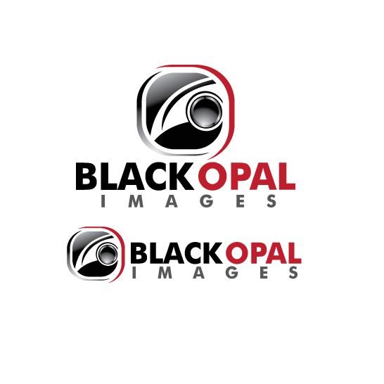 Logo Design by stormbighit - Entry No. 12 in the Logo Design Contest New Logo Design for Black Opal Images.