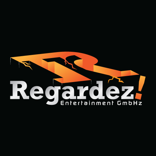 Logo Design by suke - Entry No. 77 in the Logo Design Contest Logo Design Needed for Exciting New Company Regardez! (full name = Regardez! Entertainment GmbH).