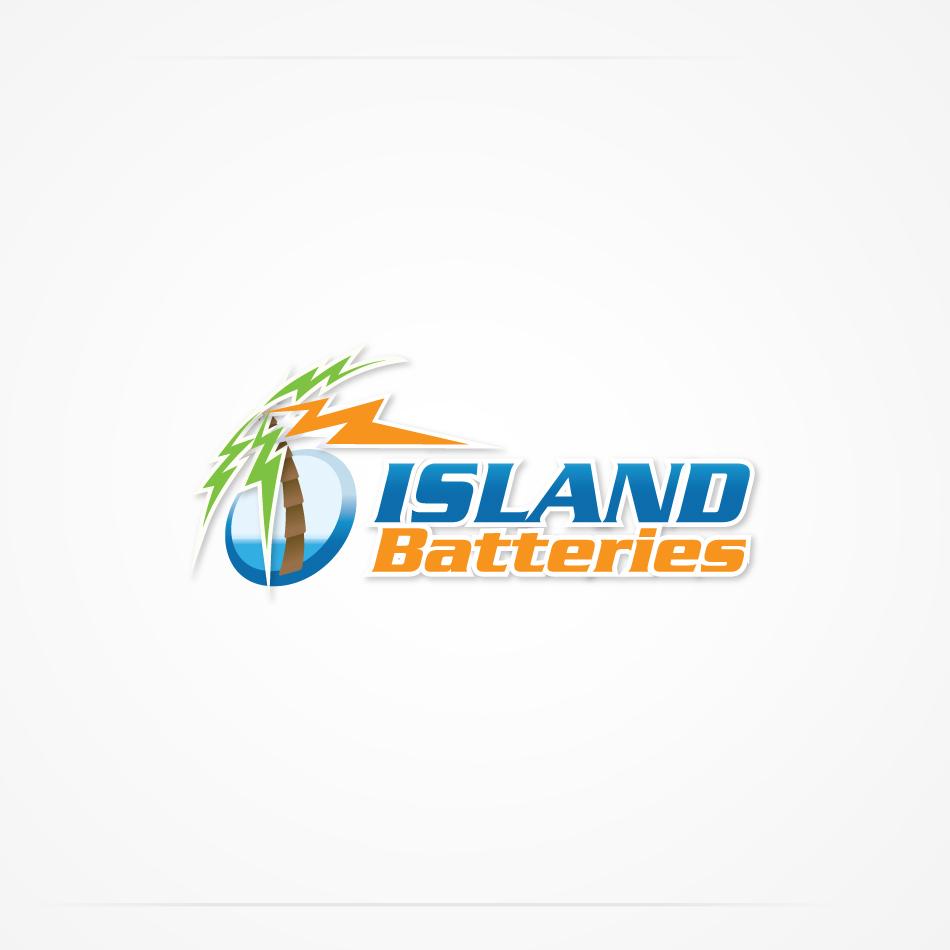 Logo Design by biggiebor - Entry No. 7 in the Logo Design Contest Fun Logo Design for Island Batteries.