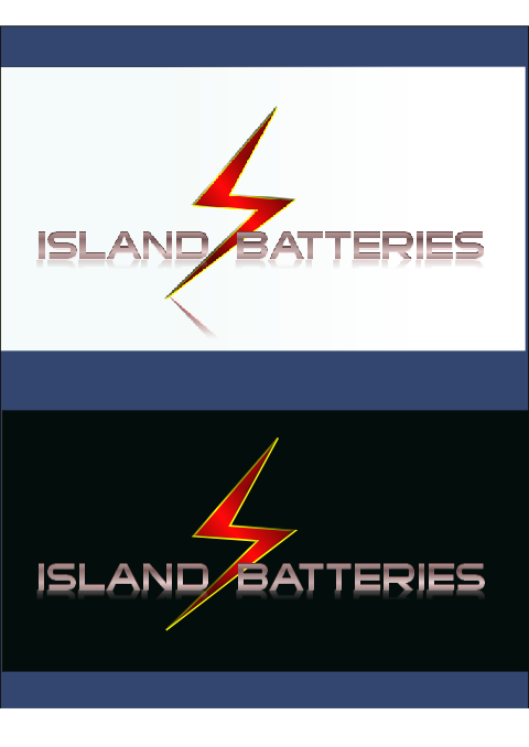 Logo Design by Heri Susanto - Entry No. 8 in the Logo Design Contest Fun Logo Design for Island Batteries.