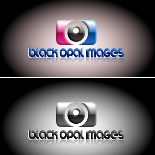 Logo Design by joway - Entry No. 55 in the Logo Design Contest New Logo Design for Black Opal Images.