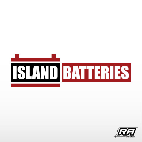 Logo Design by RA-Design - Entry No. 10 in the Logo Design Contest Fun Logo Design for Island Batteries.
