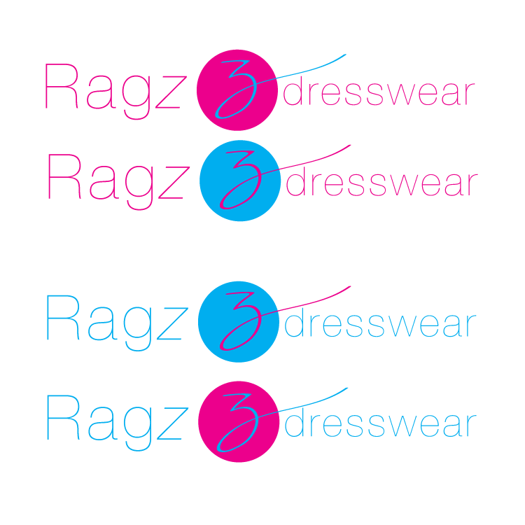 Logo Design by Private User - Entry No. 227 in the Logo Design Contest Ragz Dressware.
