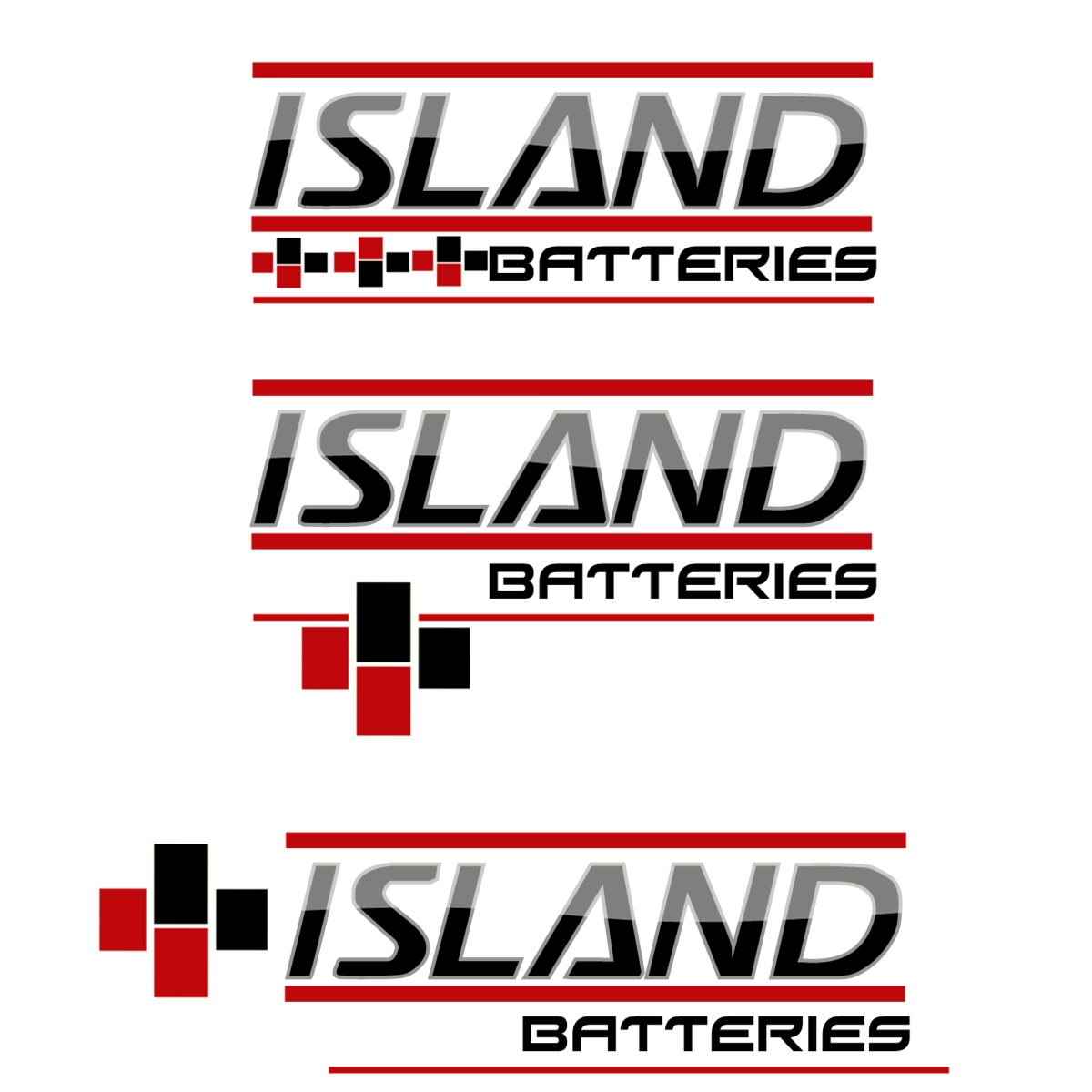Logo Design by Joseph calunsag Cagaanan - Entry No. 17 in the Logo Design Contest Fun Logo Design for Island Batteries.