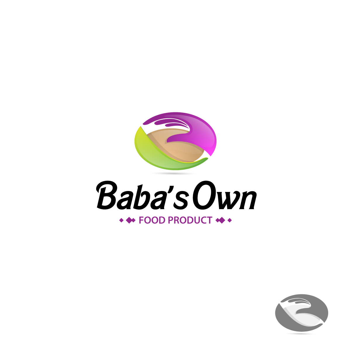 Logo Design by zesthar - Entry No. 41 in the Logo Design Contest Unique Logo Design Wanted for Baba's Own Food Products.
