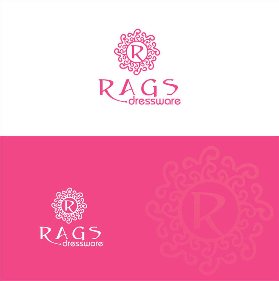 Logo Design by Junbug - Entry No. 229 in the Logo Design Contest Ragz Dressware.