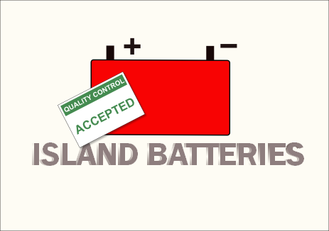 Logo Design by Heri Susanto - Entry No. 20 in the Logo Design Contest Fun Logo Design for Island Batteries.