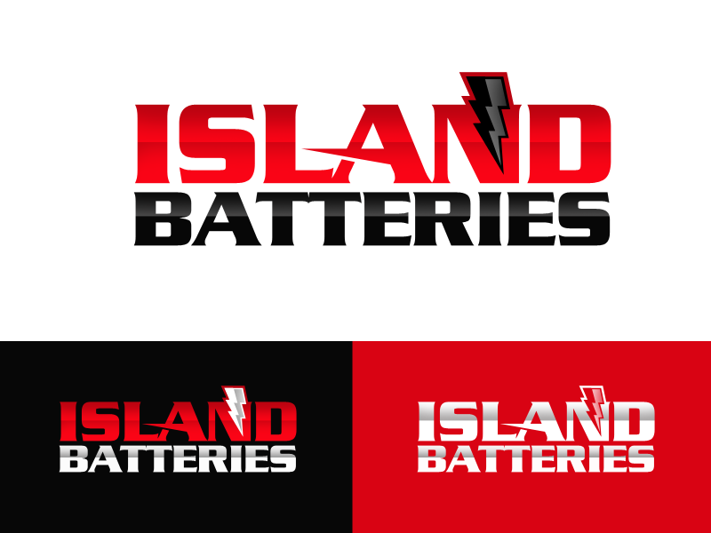 Logo Design by alocelja - Entry No. 24 in the Logo Design Contest Fun Logo Design for Island Batteries.