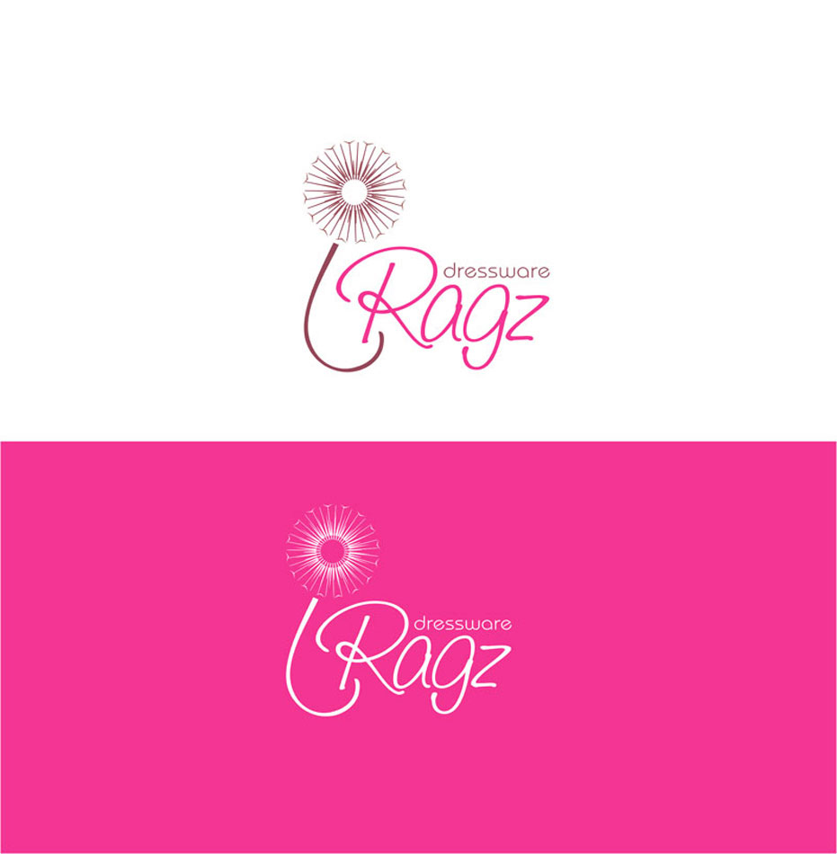 Logo Design by Junbug - Entry No. 231 in the Logo Design Contest Ragz Dressware.