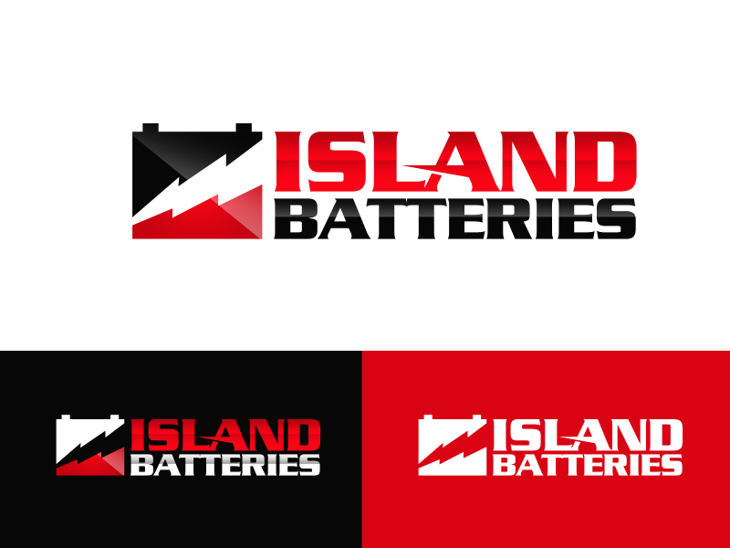 Logo Design by alocelja - Entry No. 25 in the Logo Design Contest Fun Logo Design for Island Batteries.