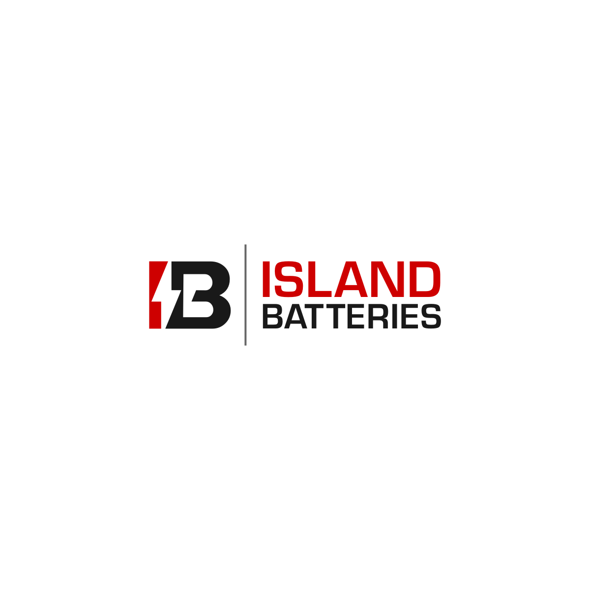 Logo Design by Hermeneutic - Entry No. 29 in the Logo Design Contest Fun Logo Design for Island Batteries.