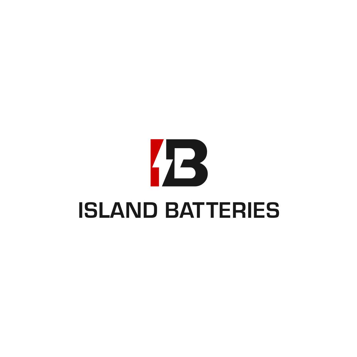Logo Design by Hermeneutic - Entry No. 30 in the Logo Design Contest Fun Logo Design for Island Batteries.