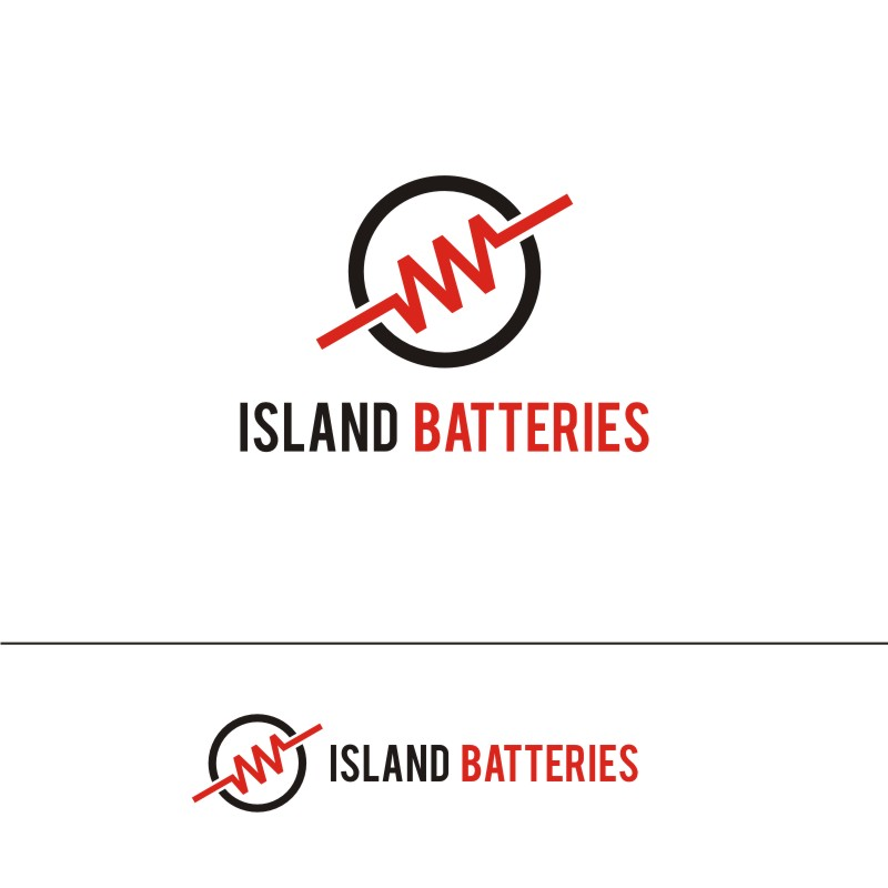 Logo Design by Private User - Entry No. 42 in the Logo Design Contest Fun Logo Design for Island Batteries.
