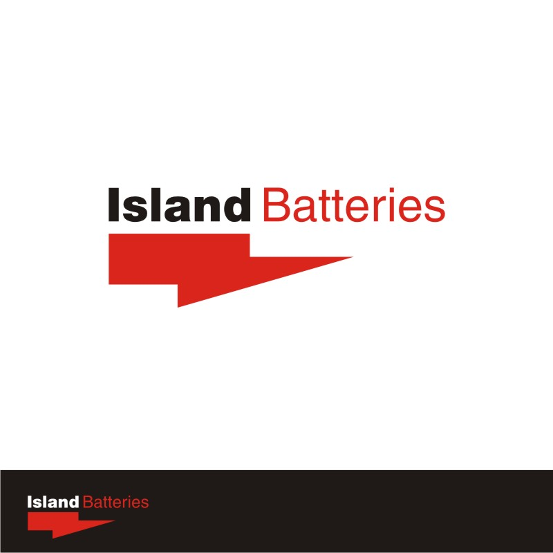 Logo Design by Private User - Entry No. 44 in the Logo Design Contest Fun Logo Design for Island Batteries.