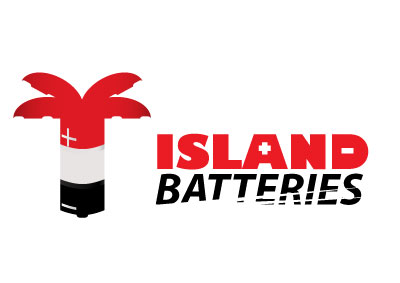 Logo Design by april - Entry No. 53 in the Logo Design Contest Fun Logo Design for Island Batteries.