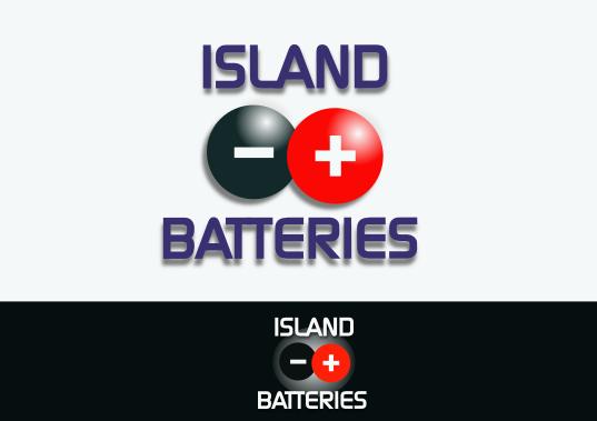 Logo Design by Heri Susanto - Entry No. 54 in the Logo Design Contest Fun Logo Design for Island Batteries.