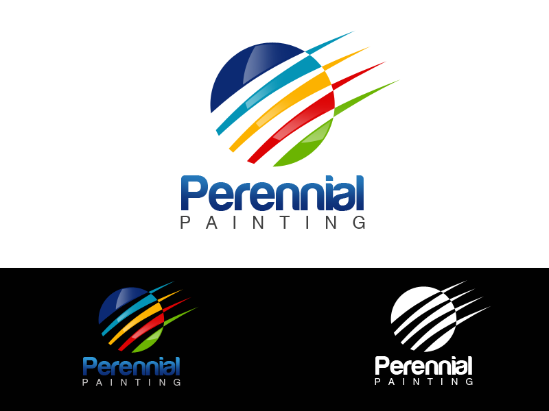 Logo Design by alocelja - Entry No. 9 in the Logo Design Contest Logo Design Needed for Established Painting Company.